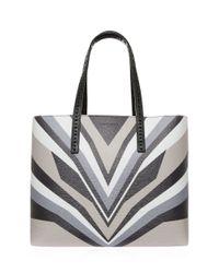 Elena Ghisellini - Gray Miky Printed Bag - Lyst