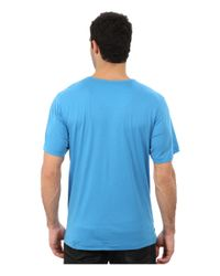 Tommy Bahama | Blue Solid Cotton Modal Jersey Knit Tee for Men | Lyst