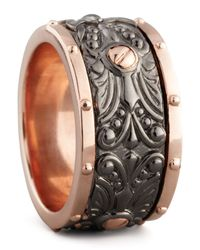Stephen Webster - Black Wide Spinner Ring - Lyst
