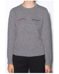 Band of Outsiders - Gray Grey Eyelash Sweater - Lyst
