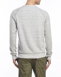 Alternative Apparel   Gray Knit Raglan Sweatshirt for Men   Lyst