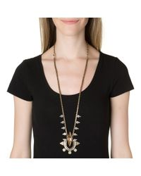 Lionette | Metallic Gizele Necklace | Lyst