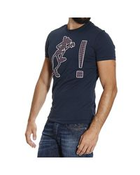 Iceberg | Blue T-shirt for Men | Lyst
