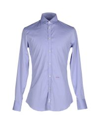 DSquared² | Purple Shirt for Men | Lyst