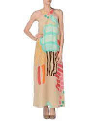 Aspesi - Blue Long Dress - Lyst