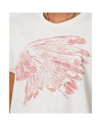 Denim & Supply Ralph Lauren - White Headdress Graphic Tshirt for Men - Lyst