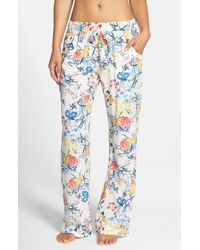 Nordstrom - Multicolor Nordstrom 'sweet Dreams' Woven Lounge Pants - Lyst