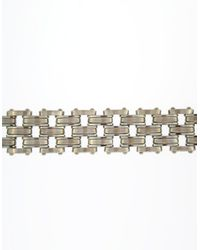 Lord & Taylor | Metallic Men's Sterling Silver Bracelet for Men | Lyst