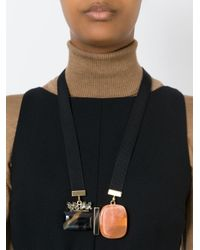 Marni | Multicolor Multiple Pendant Necklace | Lyst