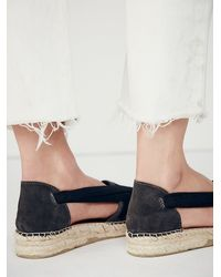Free People | Black Womens Seville Espadrille | Lyst