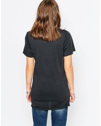 Zoe Karssen   Gray No More Heroes Oversized Short Sleeve T-shirt   Lyst