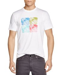 Psycho Bunny | White Brushstroke Warhol Tee for Men | Lyst