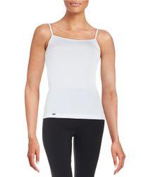 La Perla | White Solid Camisole | Lyst