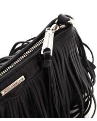 Rebecca Minkoff | Black Finn Crossbody Bag | Lyst