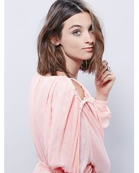 Free People | Pink Marrakesh Dress | Lyst