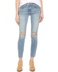 Current/Elliott - Blue The Stiletto Jeans - Lyst