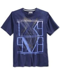 Sean John | Blue Men's Xv-98 T-shirt for Men | Lyst