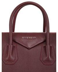 Givenchy - Red Medium Antigona Grained Leather Bag - Lyst