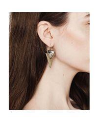 Jenny Bird | Metallic Flagstaff Earrings | Lyst