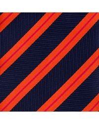Thomas Pink | Blue Ford Stripe Woven Tie for Men | Lyst