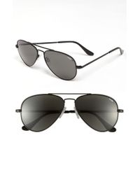 Randolph Engineering - Black 'concorde Classic' 57mm Polarized Sunglasses for Men - Lyst
