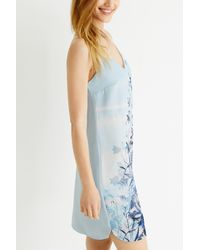 Oasis - Multicolor Tie Dye Cami Dress - Lyst