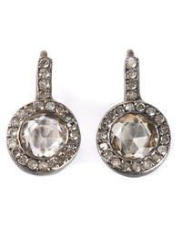 Rosa Maria - Metallic Bobel Earrings - Lyst