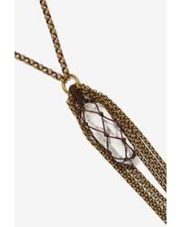 Heather Kahn | Metallic Nightshade Chain Necklace | Lyst