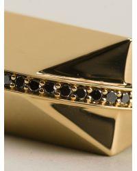 Ruifier - Metallic 'icon Shard' Ring - Lyst