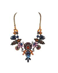 Ziba | Black Elvinia Statement Necklace | Lyst