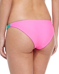 Basta Surf - Pink Bondi Reversible Swim Bottom - Lyst