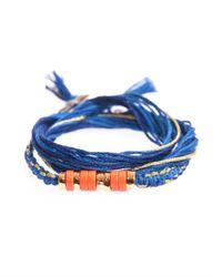 Aurelie Bidermann - Blue Takayama Coralstone Bracelet - Lyst