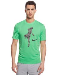 Nike - Green Lax Legend Action Shot Dri-fit T-shirt for Men - Lyst