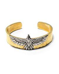 Pamela Love | Metallic Aguila Cuff In Brass | Lyst