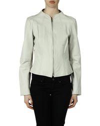 Armani Jeans - White Jacket - Lyst