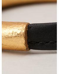 Monies - Metallic Foil Bracelet - Lyst