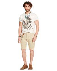 Denim & Supply Ralph Lauren   Natural Slim-fit Cotton Utility Short for Men   Lyst