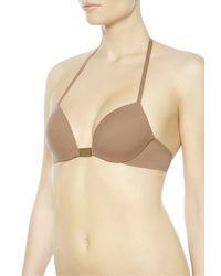 La Perla | Brown Push-up Bikini Top | Lyst