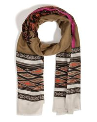 Etro - Multicolor Cashmere Printed Scarf - Lyst
