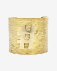 Kelly Wearstler - Metallic Maverick Cuff - Lyst