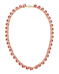 Ca&Lou - Red Necklace - Lyst