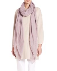 Max Mara - Pink Sial Woven Scarf - Lyst