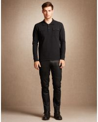 Belstaff | Black Broxburn T-shirt for Men | Lyst