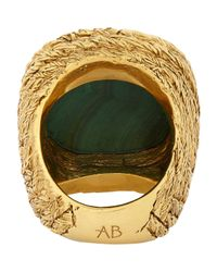 Aurelie Bidermann | Green Miki Ring Size 6 | Lyst