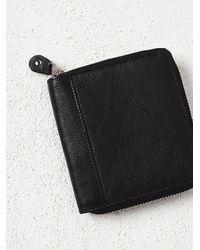 Free People | Black Womens Ashford Leather Wallet | Lyst