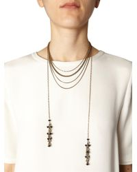 Isabel Marant | Blue Polly Multichain Necklace | Lyst