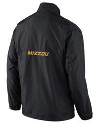 Nike - Black Men'S Missouri Tigers Half-Zip Pullover Jacket for Men - Lyst