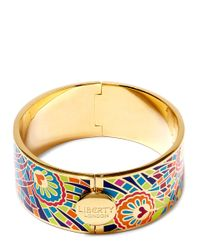 Liberty | Multicolor Lime Hera Multicolour Thick Cuff | Lyst