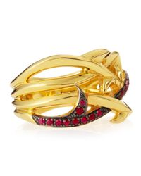 Stephen Webster - Metallic Gold Rapture Thorn Ring - Lyst