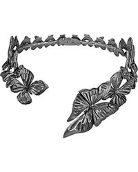 Georg Jensen | Metallic Askill Rhodium-plated Sterling Silver Choker Necklace | Lyst